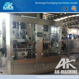 Bouteille de l'étiquetage rétractable Machine en usine de fabrication de machine d'impression d'étiquette de manchon rétractable