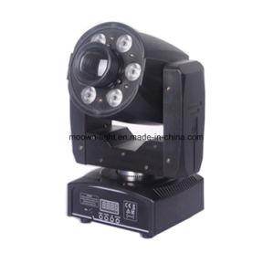 30W Gobo Spot lavar a cabeça móvel LED mini-discoteca