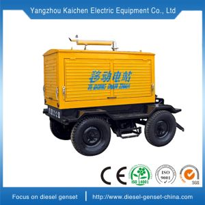 30kVA 50kVA 100kVA 200kVA 500kVA Mobile gerador diesel de potência do motor