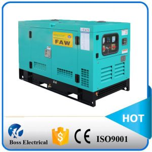 60Hz 15kw水Cooled Fawde Silent Type Back-up Generator