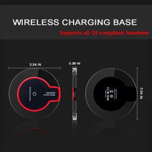 Зарядное устройство для беспроводной связи стандарта Qi высокого качества для Samsung S9 S6 Edge S7 S8 плюс