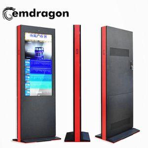 Plancher de 55 pouces haute luminosité permanent de la publicité extérieure LCD HD Media Monitor Android 3G/4G La signalisation numérique Ad Player écran tactile