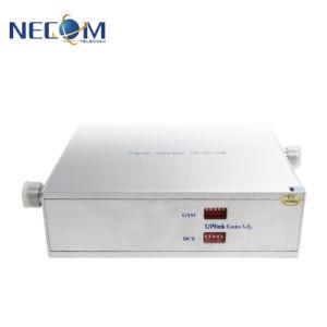 De dubbele GSM van de Repeater van het Signaal van de Band Mobiele Hulp Draadloze Dekking van de Versterker van het Signaal van de Telefoon van UMTS Mobiele over 200-300 Vierkante Meters
