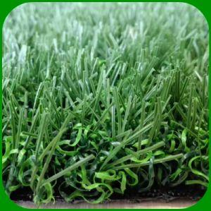 Sport-künstliches Gras für den Fußball, der nicht Fußball-Chemiefasergewebe-Rasen füllt