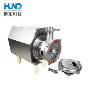 Auto sanitario dell'acciaio inossidabile che innesca pompa centrifuga per latte