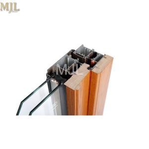 Materiais de Construção em alumínio de revestimento de madeira Residencial Clarabóia Janela penduradas Superior