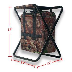 يطوي كرسيّ مختبر كرسي تثبيت مع قابل للنقل [أوندر-ست] مبرّد حقيبة لأنّ خارجيّ يخيّم, شاطئ, صيد سمك ووقت فراغ