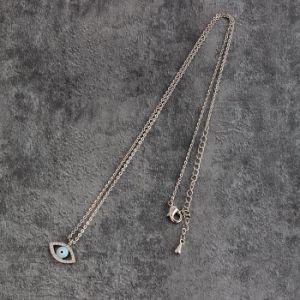 Banheira de venda barato jóias de prata pingente de olho do diabo para meninas