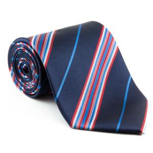 Faixa ampla de gravatas de moda de poliéster Micro