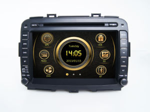 Sistema di percorso stereo automatico di DVD GPS audio KIA Carens