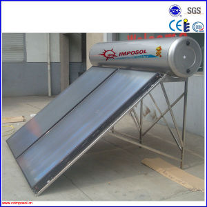 물 탱크를 위한 편평판 태양열 수집기