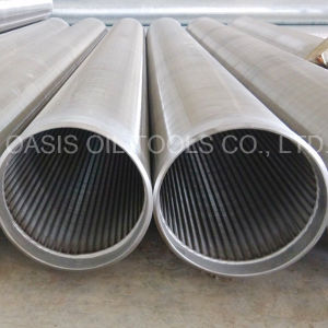 Poço de Água Perfura Telas do Poço de Água de Aço Inoxidável