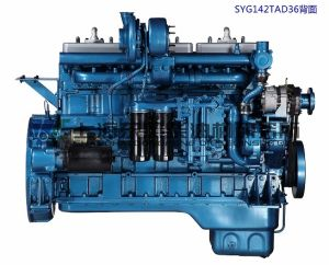 365kw, G128 의 발전기 세트, Dongfeng 상표를 위한 상해 디젤 엔진