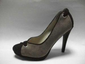 SL1105-01 gris + Noir Lady Shoe
