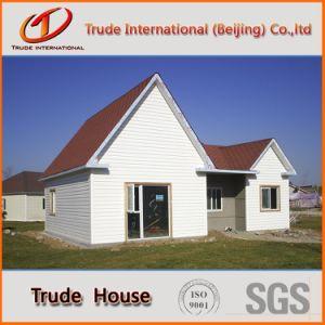 La estructura de acero de calibre de la luz económico Edificio Modular/mobile/Prefabricados/Villa prefabricados