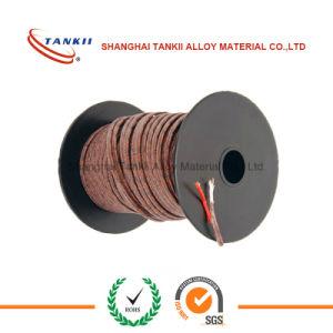 Tipo di cavo vetroresina a temperatura elevata di estensione di termocoppia del conduttore isolato del silicone del collegare alta K (KPX KNX)