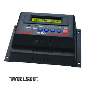 WELLSEE WS-C2430 20A 12/24Vの充電器のコントローラー