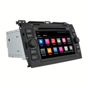 トヨタの土地の巡洋艦人間の特徴をもつ車DVD GPSトヨタの土地の巡洋艦の人間の特徴をもつ車DVDのためのタッチ画面車の音声