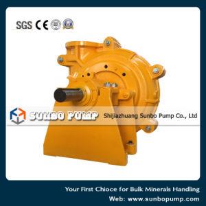 Minería Wear-Resistant horizontal de la bomba centrífuga de papilla (CE, SGS ISO aprobado).