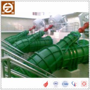 Geneigter Typ Strömung-elektrische Wasser-Pumpe mit Zirkulation