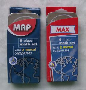 Ensemble Maximum de Maths de Carte Mathématique Réglée D'instruments de Maths