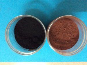 Zwarte Kleur van uitstekende kwaliteit van het Pigment van het Oxyde van het Ijzer de Zwarte voor Bakstenen