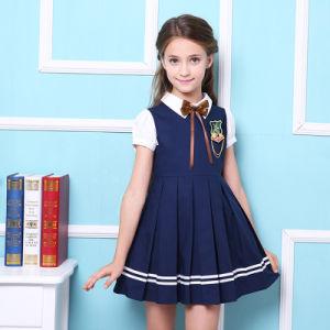 uk availability ac723 78736 Vestito blu/rosso dall'uniforme scolastico primario delle ...