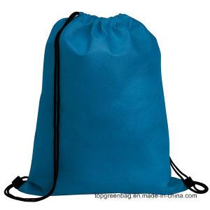 Não Tecidos de volta Packs Mochila Mochila Packsack sacos para roupa suja