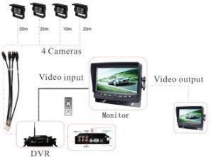 Carro Móvel de câmara solução DVR para ônibus/Veículo