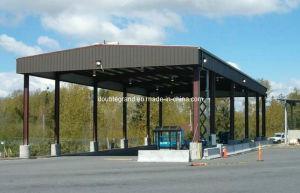 Estructura de acero prefabricados para la construcción de la estación de Gas/Caballo Arena/Estación de llenado de gas (DG3-049)