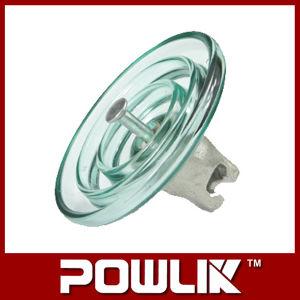 Isolador de suspensão de vidro para a linha de alta tensão (LXP-120)