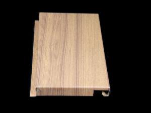 Le bois/ressembler de marbre Panneau en aluminium pour revêtement de façade et la décoration