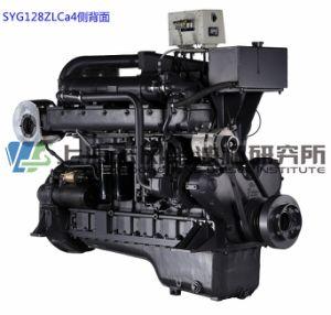 Marine, G128, 220.5kw, 1500rmp, de Dieselmotor van Shanghai voor Generator Set,
