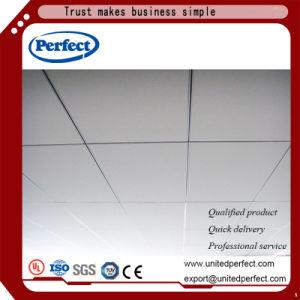 Auditorium Commercial tissu en fibre de verre panneaux de plafond acoustique