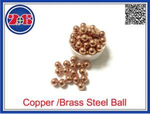 2mm 6.5mm 8mm 15mm 25mm 50mm Bal van het Staal van de Deklaag van het Zink van de Kuiper van het Nikkel van de Bal van het Staal de Geplateerde Gouden