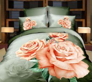 Настроенные на заводе 100% полиэстер ткань из микрофибры для кровати устанавливает/домашний текстиль и постельные принадлежности в мастерской