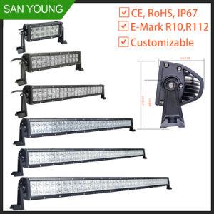 Barra de luz em trilhas de LED 36W para veículo Boat Alto Brilho LED IP67 Barra de Luz de Trabalho