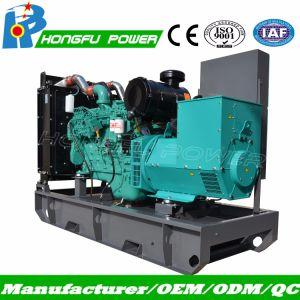 Ouvert de type silencieux Groupe électrogène diesel électrique 313kVA l'utilisation industrielle