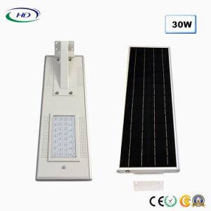 2018経済的なタイプ30W統合されたLEDの太陽庭ライト
