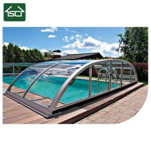 Dekking van de Pool van de Villa van de Lage Kosten van China de Openlucht Telescopische voor Zwembad