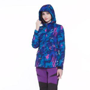 공장 도매 여자 Hoody 방수 좋은 품질 연약한 쉘 재킷