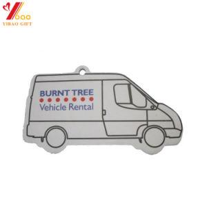 Logotipo personalizado del coche/papel de la forma de tronco Auto Ambientador