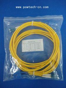 Sc/LC dúplex tipo 3m de longitud del cable de conexión de fibra óptica
