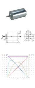 2-300W 12/24V PMDC Micro Motor para la herramienta de perforación