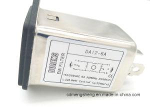 IECはEMIのプラグフィルター二重ヒューズコネクターをフィルタに掛ける