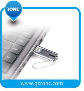 2GB USB Flash Memory Stick com caixa metálica Pack