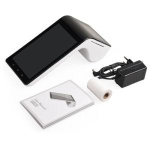 Touch Screen Positions-Zahlungs-Terminal PT7003 des mobilen Android-7 '' mit Thermodrucker und drahtlosem Scanner