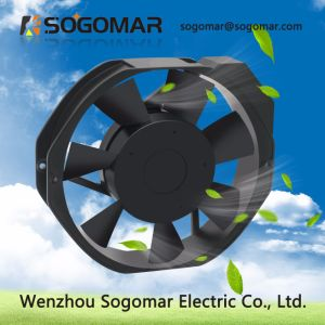 172x150x38mm AC 230V con ventilador de pared Terminal para la ventilación