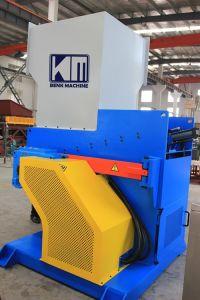 Resíduos plásticos de PE/PP Triturador de eixo único filme sistema da máquina