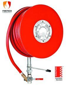 Como1221 Carrete de manguera de fuego fijo con certificado Standardmark